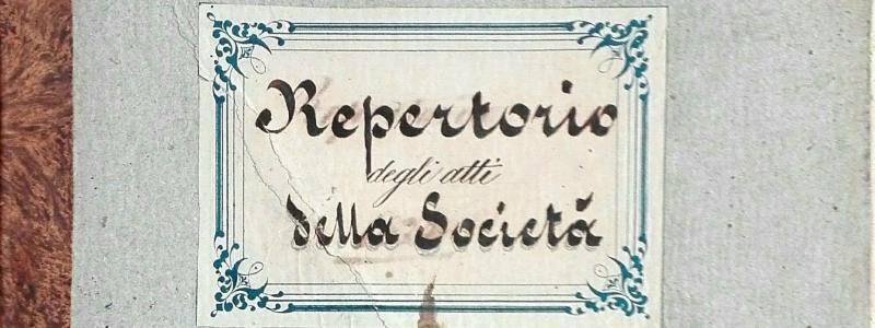 Repertorio degli atti. 1874 -1877
