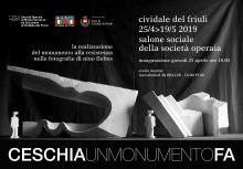Ceschia. un monumento fa invito